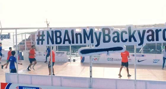 NBA Experiential Campaign